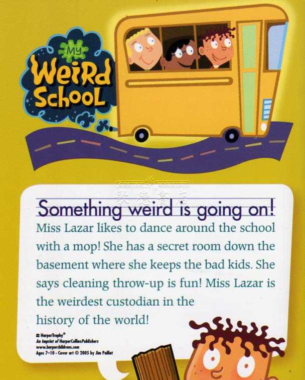 Miss Lazar Is Bizarre! My Weird School #9